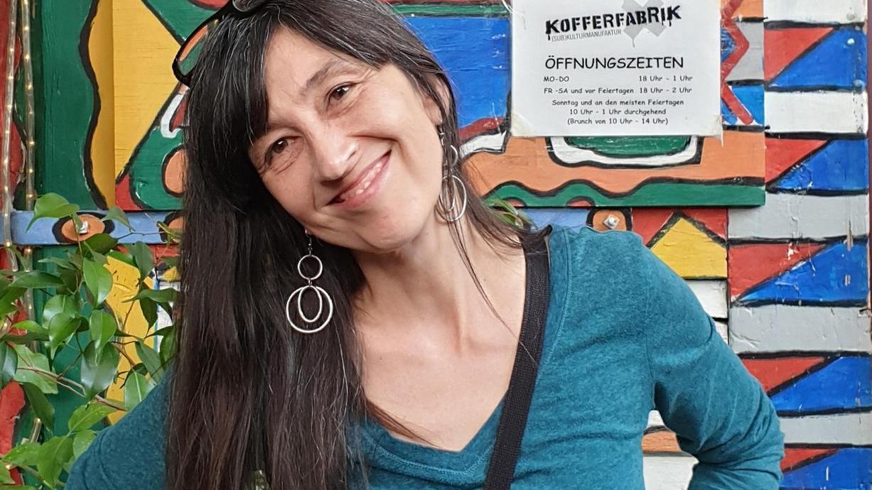 Die Fürtherin Anja Kröpke gehört gewissermaßen schon zum Inventar der Kofferfabrik. Anfang September tritt sie hier wieder in Aktion.