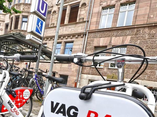Die VAG hat das Radleihsystem neu aufgestellt.