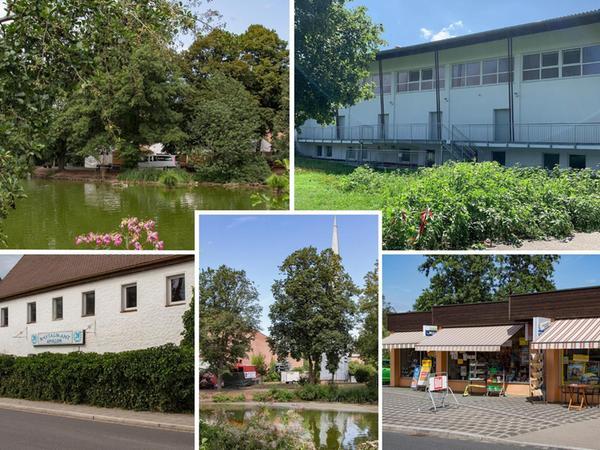 2019 sind all diese Gebäude noch da, wenn auch teilweise modernisiert und von der mittlerweile äußerst üppigen Vegetation regelrecht zugewuchert.