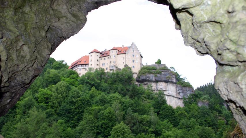 Weg im Ailsbachtal einst für König Ludwig angelegt