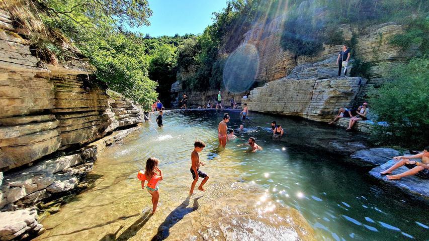 Mit Camper und Familie in den wilden Nordwesten von Epirus und auf Lefkada