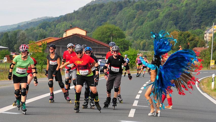 Im vergangenen Jahrfiel die Sportveranstaltung coronabedingt in Wasser. Eine mögliche Absage auch für 2021 haben die Veranstalter bis jetzt noch nicht bekanntgegeben. Man hofft wohl noch,die 21. Auflage des Marathons durch dieFränkischeSchweiz am 5. September abhalten zu können.