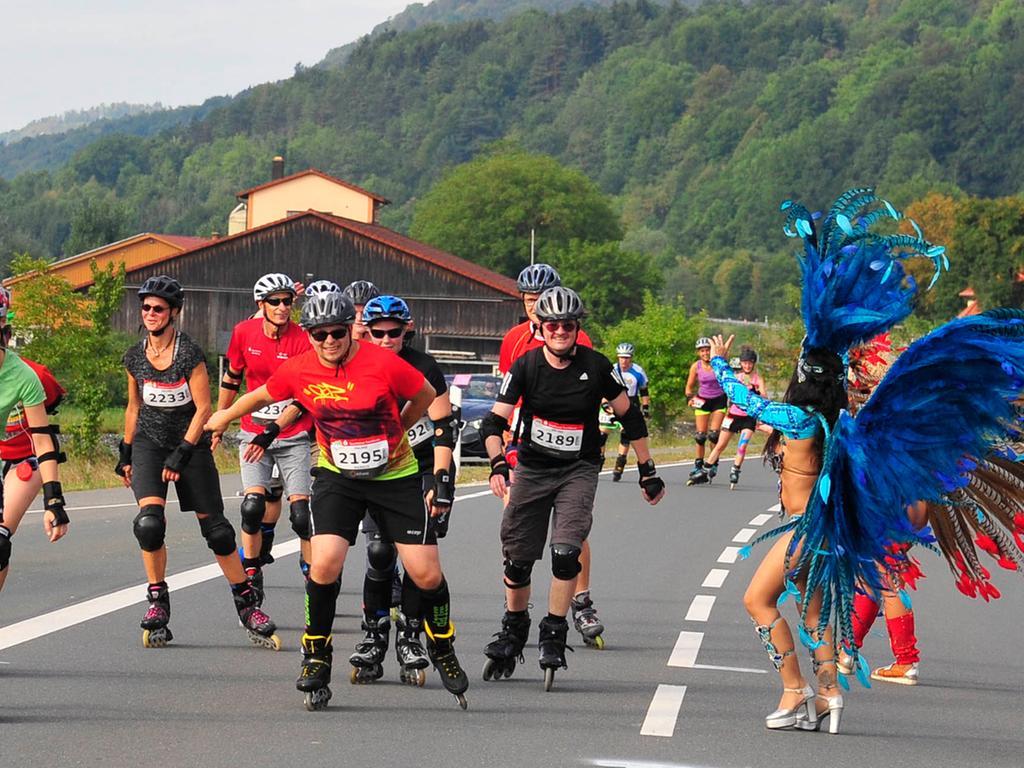 Ebermannstadt..Marathon Fränkische Schweiz..Streitberg..Foto Roland G.Huber
