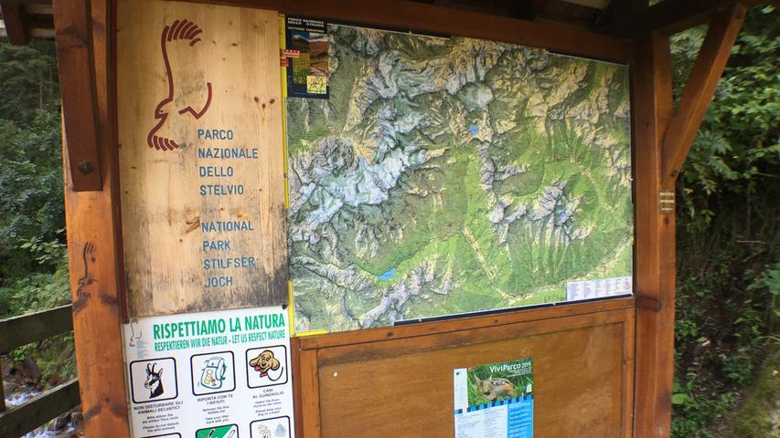 Die Natur des Ortler-Gebietes wurde bereits 1935 unter Schutz gestellt. Daraus entwickelte sich der Nationalpark Stilfser Joch. Er umfass heute ist 135.000 Hektar und zählt damit zu den größten Naturschutzgebieten Europas. Er erstreckt sich über vier italienische Provinzen.