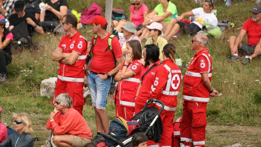 ...und die Rettungskräfte hatten Zeit, zuzuhören.