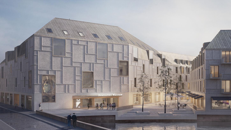 Motiv: Nürnberg - Modell - Visualisierung - Simulation..Deutsches Museum - Zukunftsmuseum - Architektur ..Copyright: © Staab Architekten Berlin - 09/2019 gesp., überm. von ; m.saverimuthu@deutsches-museum.de - 09/2019 gesp.