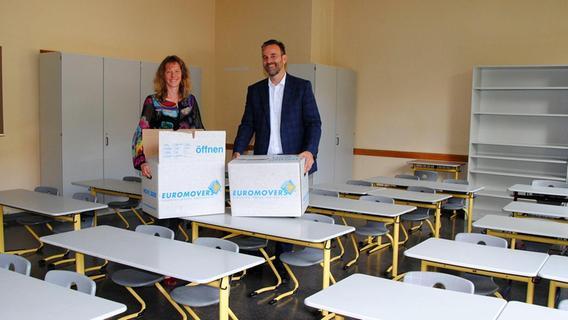 Nur für ein Jahr: Luitpoldschule Schwabach zieht um