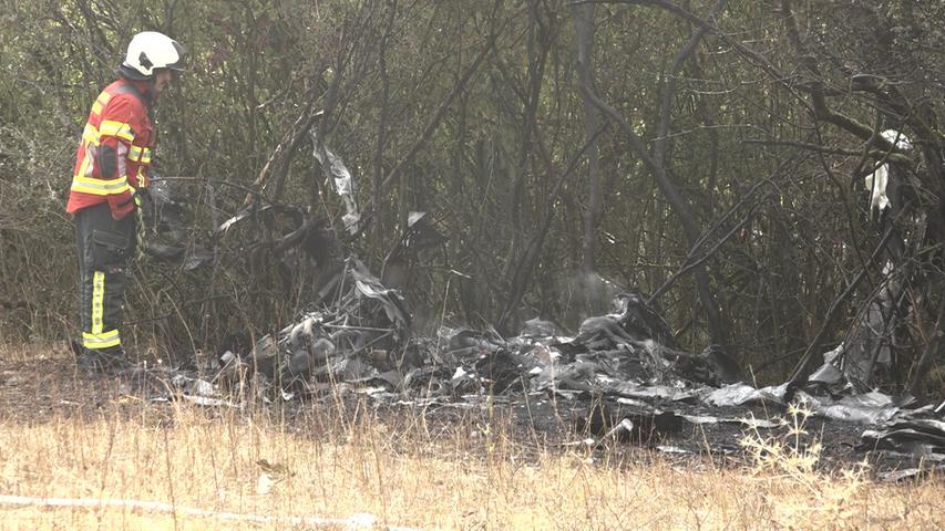 Kleinflugzeug beim Start abgestürzt: Zwei Insassen schwer verletzt