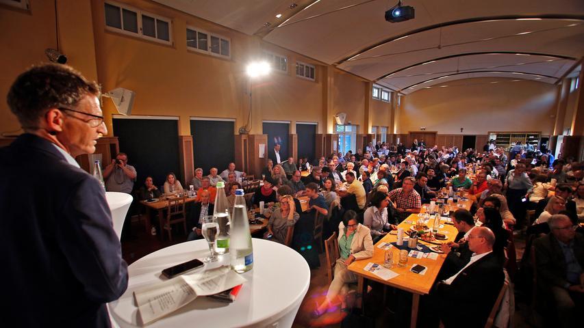 Dreikampf beim NN-Forum: Wer wird Nürnbergs nächster Bürgermeister?