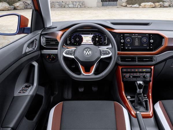 Kostet extra: T-Cross mit digitalem Kombiinstrument hinterm Lenkrad (