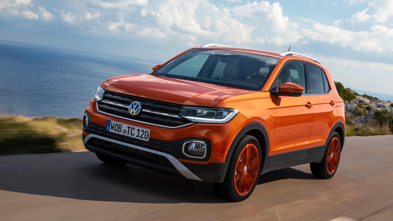 T-Cross: Auf Wunsch ist das Junior-SUV von VW auch in extrovertierten Farben wie