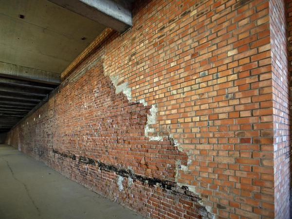 Noch hält das Dach. Das Mauerwerk in der Kongresshalle ist trocken. Ein Umbau wird trotzdem teuer.