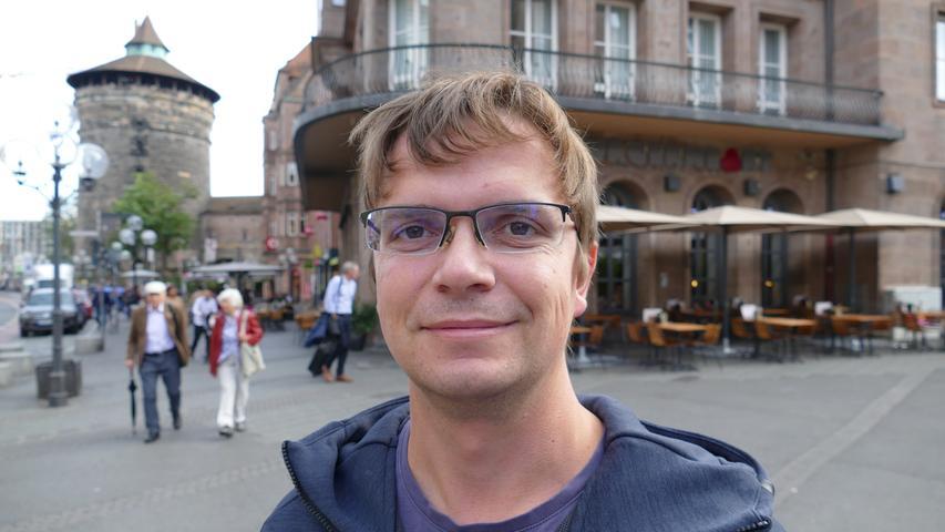Als Controller in einem großen Industrieunternehmen hat Florian Abraham gerade viel zu tun und geht deshalb nicht auf die Demo am Freitag.