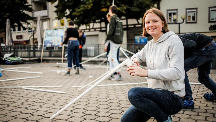 Forchheim: Demo fuer das Klima Foto: Sonja Och / Pauschale
