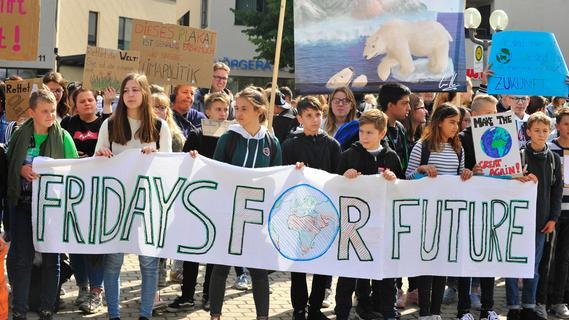 Fridays for Future fordert Klimanotstand in Forchheim