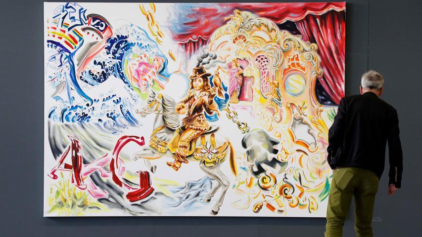 Ressort: Feuilleton..Datum: 21.09.19..Foto: Edgar Pfrogner..Motiv: Muggenhofer Straße, Nürnberg, Offen Auf AEG, Halle 15, Werkschau der Künstler mit Atelier auf AEG