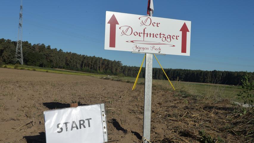 Möhrendorfer Karpfenweiherlauf.Foto: Klaus-Dieter Schreiter