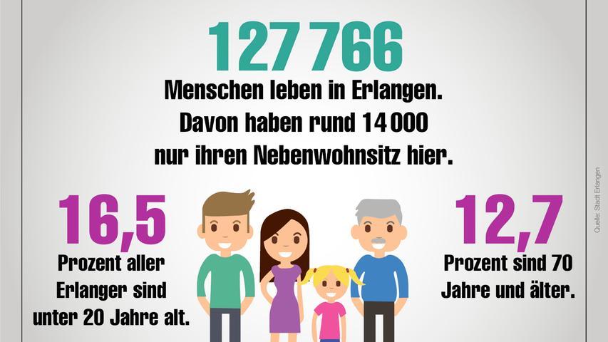 Erlangen in Zahlen Panoseite