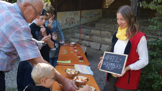 """""""Apfelnotstand"""" vorbei: Eggolsheimer Lias-Grube feiert - Nordbayern.de"""