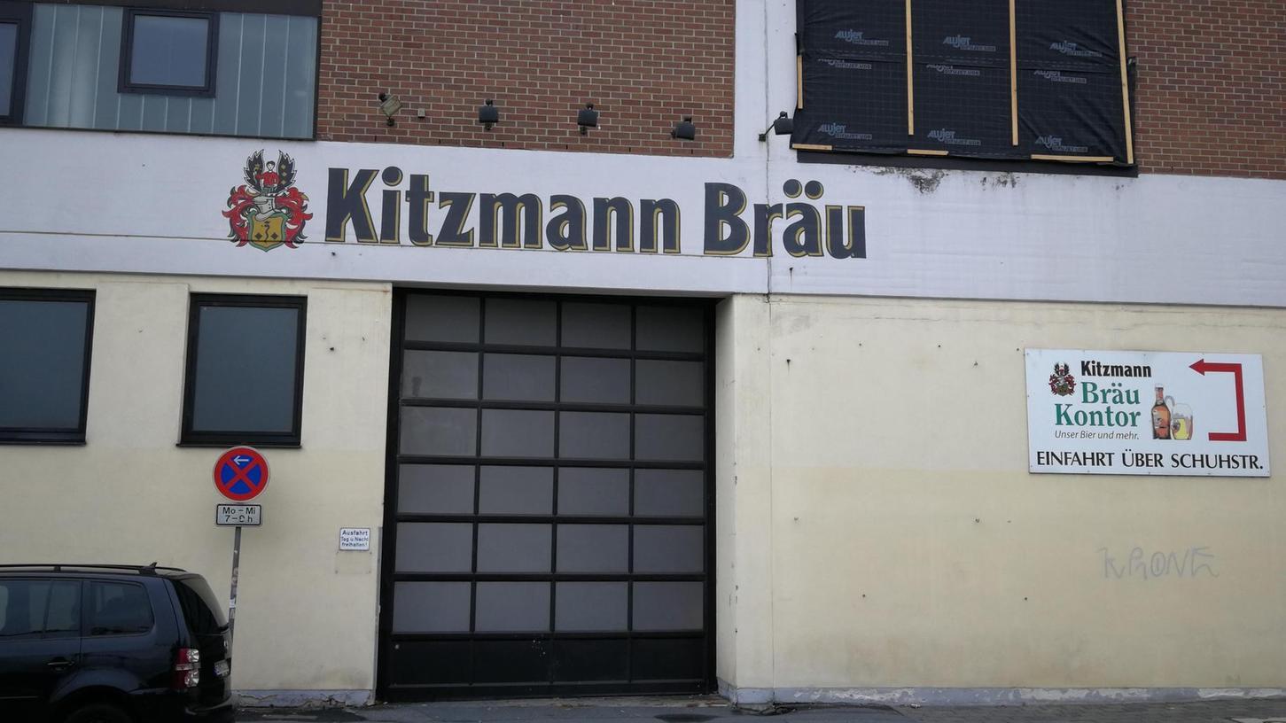 Früher herrschte hier oft reger Betrieb, seit einem Jahr ist es nun ruhig geworden: Das Tor zum Kitzmann-Brauerei-Gelände an der Fahrstraße.