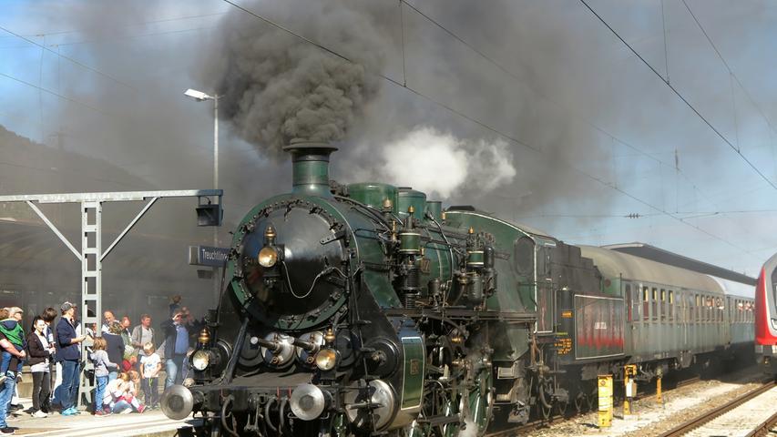 150 Jahre Eisenbahn in Treuchtlingen - Das Jubiläumsfest