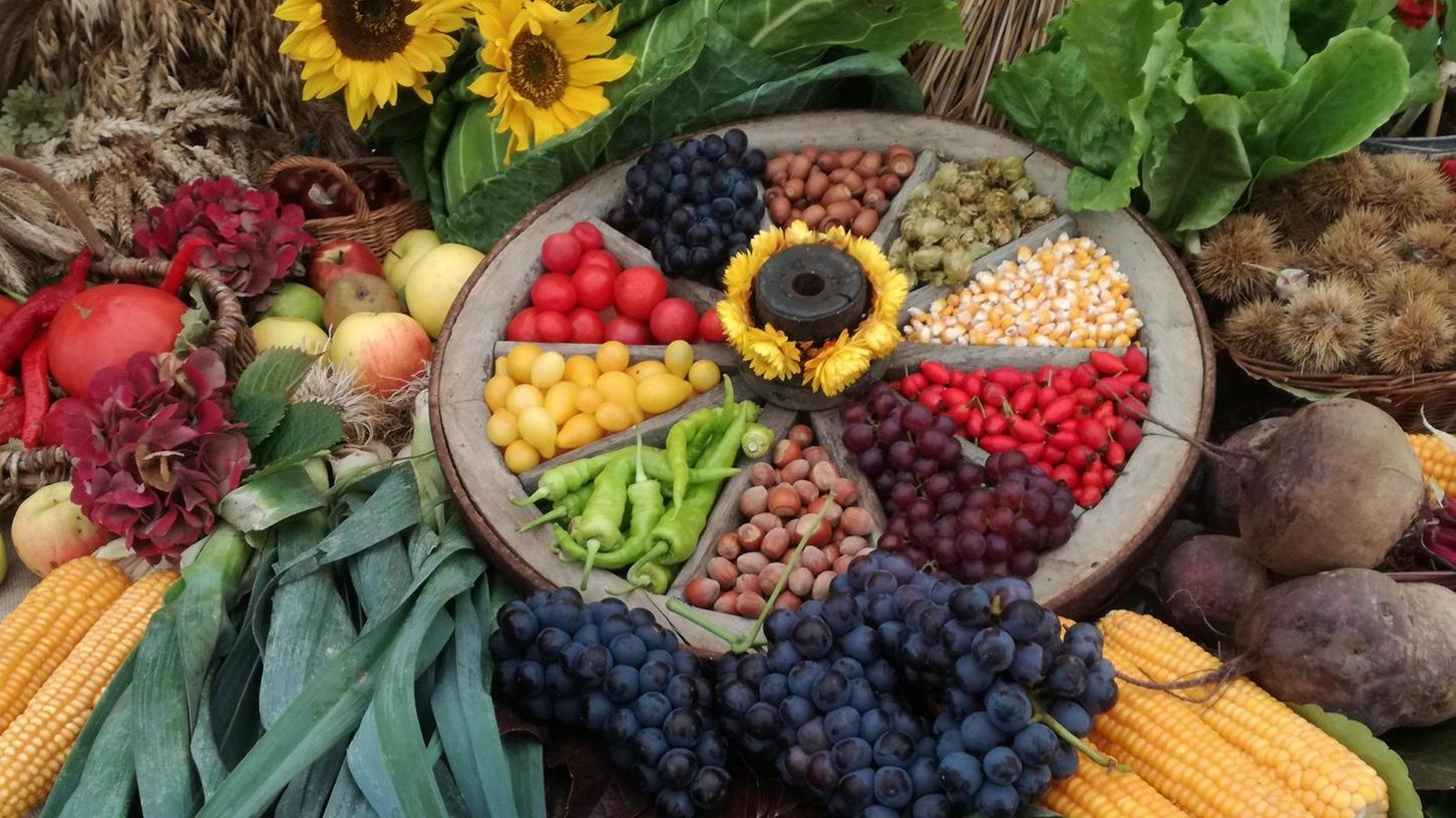 Die regionale Versorgung mit Lebensmitteln ist kein Selbstläufer. Beim Erntedankfest wird für den Ertag des Jahres gedankt.