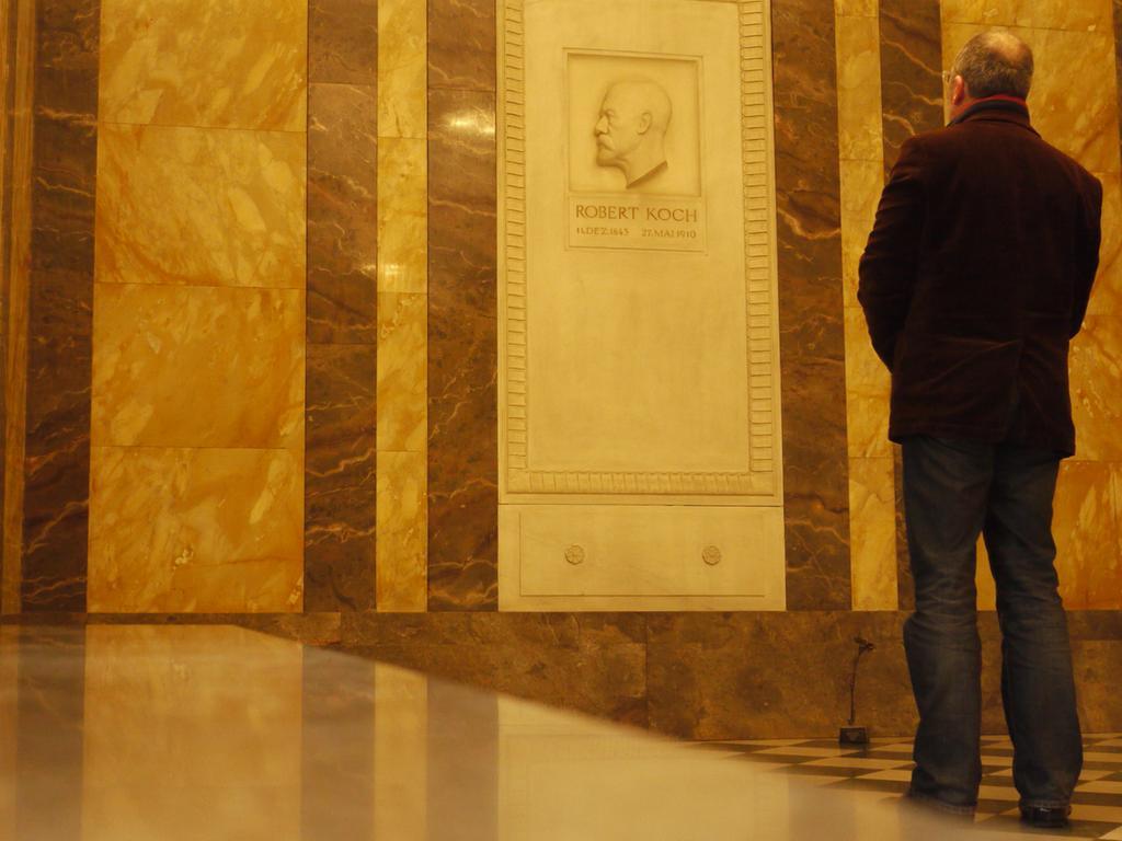 Das Grab von Robert Koch.