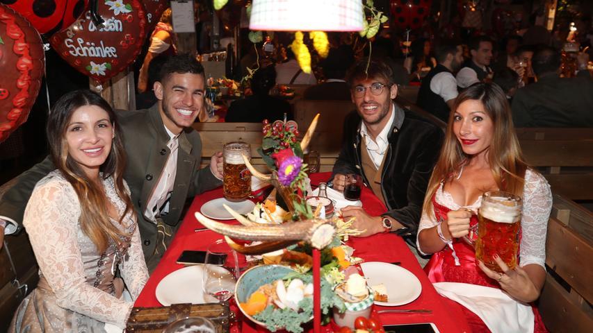 Der FC Bayern auf der Wiesn 2019: Alle Bilder des Oktoberfestbesuchs