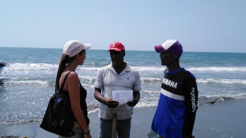 Annabel Adler aus Roth hat nicht aufgegeben - und sucht ihren Lebensgefährten jetzt in der Karibik.