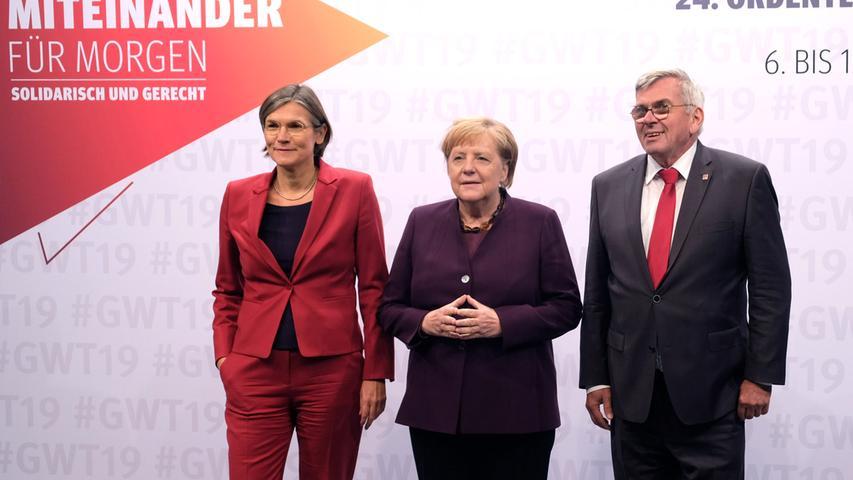 Hoher Besuch in Franken: Bundeskanzlerin Merkel in Nürnberg zu Gast