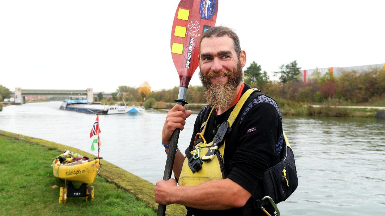 Richard Varga ist auf dem Weg von Norwegen zu seiner Familie in Ungarn.