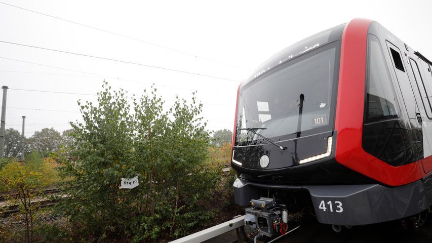 Nürnberg , 24.10.2019 Ressort: Lokales  Fotografie: Stefan Hippel VAG , Ausbesserungswerk Langwasser , Vorstellung neue U-Bahn Züge,