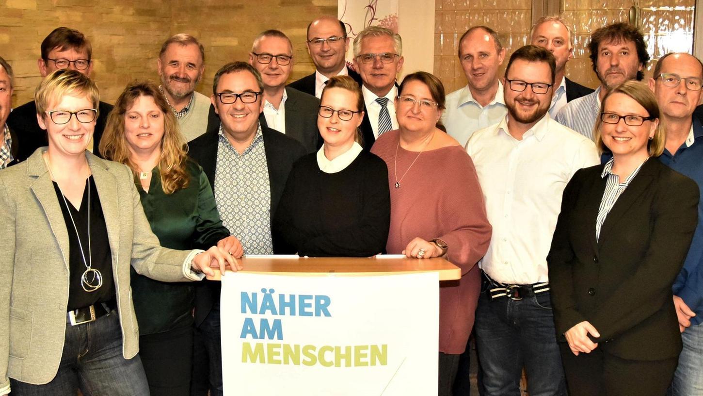 20 Männer und Frauen werfen in Berching den Hut in den Ring: Sie wollen im März 2020 in den Stadtrat gewählt werden.