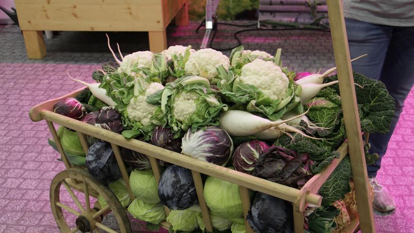 Gemüse, Schuhe und Leckereien: Impressionen von der Consumenta, Fotos: Eva Orttenburger, 27.10.2019
