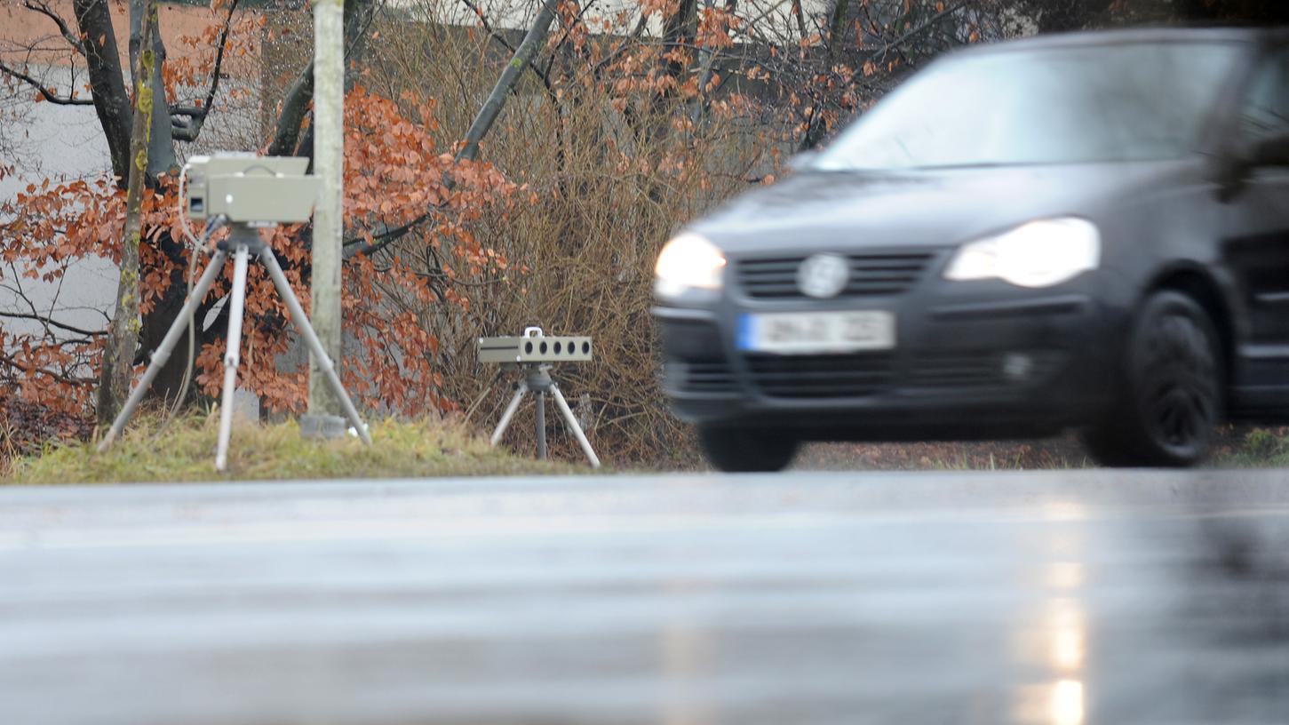 Schwere Zeiten für Raser: In Roßtal wird verstärkt geblitzt.