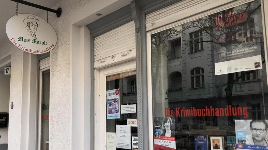 Unseren Korrespondenten zieht es in Krimibuchläden - zum Beispiel zu Miss Marple in Berlin-Charlottenburg.  Mehrpersönliche Lieblingsorte von unserem Berlin-Korrespondent Harald Baumer.