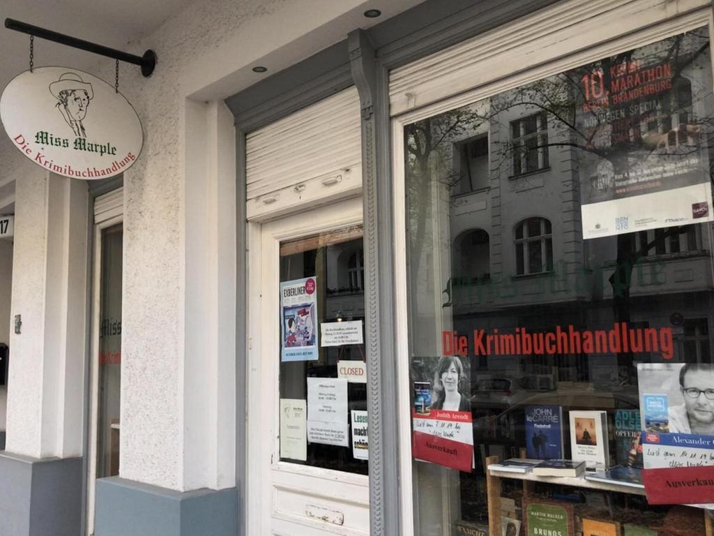 Unseren Korrespondenten zieht es in Krimibuchläden - zum Beispiel zu Miss Marple in Berlin-Charlottenburg.