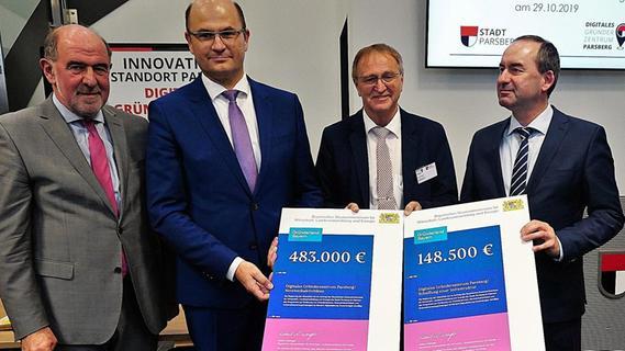In Parsberg eröffnet Digitales Gründerzentrum - Nordbayern.de
