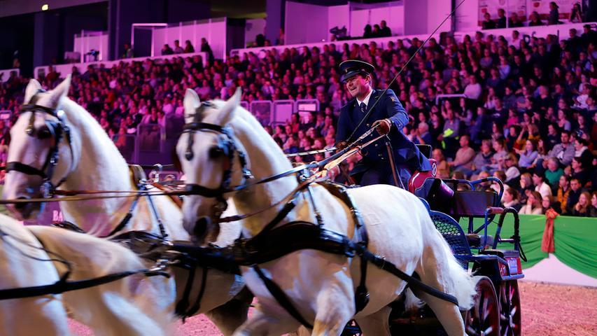 Faszination Pferd 2019: Tiere und Reiter begeistern auf der Top-Gala