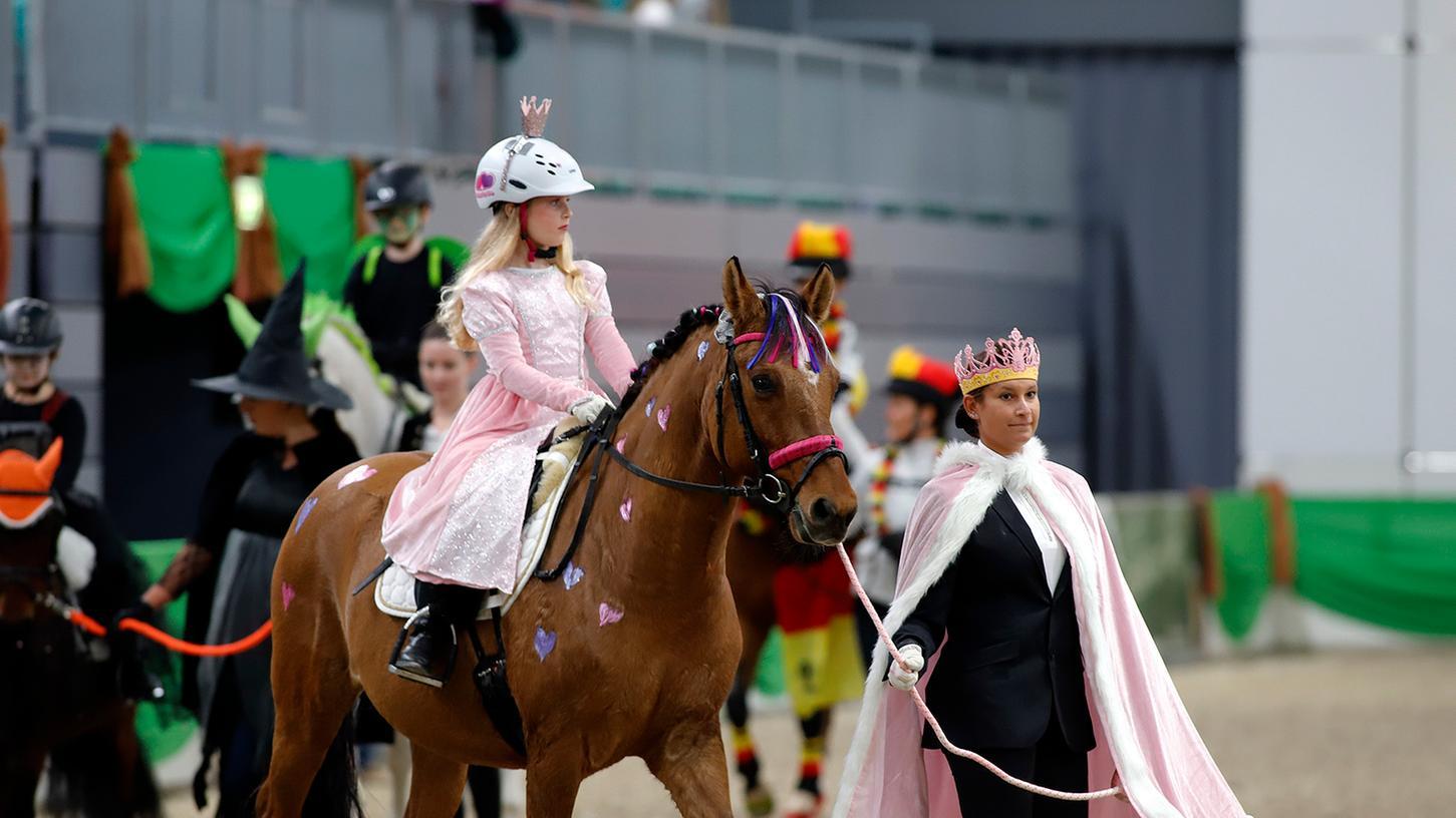 Die Faszination Pferd bringt Kinderaugen zum Leuchten.