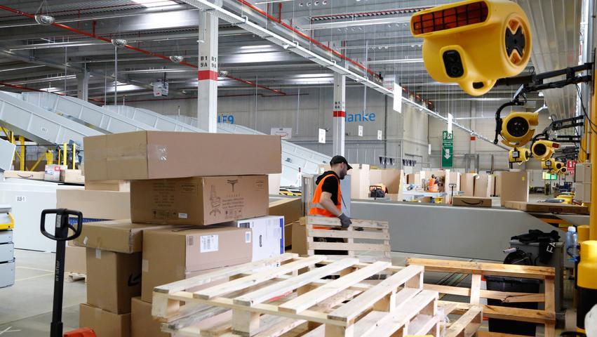 Eggolsheim hofft, dass Amazon die anfallenden Gewerbesteuern auch zahlen wird.