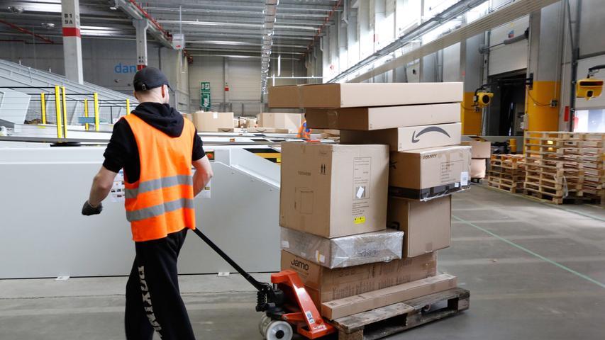 Das Ziel von Amazon: möglichst schon am Tag nach der Bestellung soll das Paket zugestellt werden.