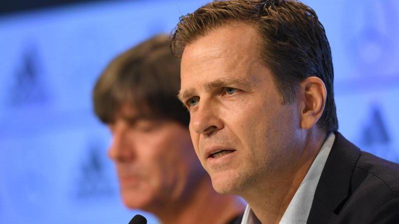 Mitteilungsbedarf: DFB-Direktor Oliver Bierhoff gab an einem fußballdeutschen Montag ordentlich Auskunft.
