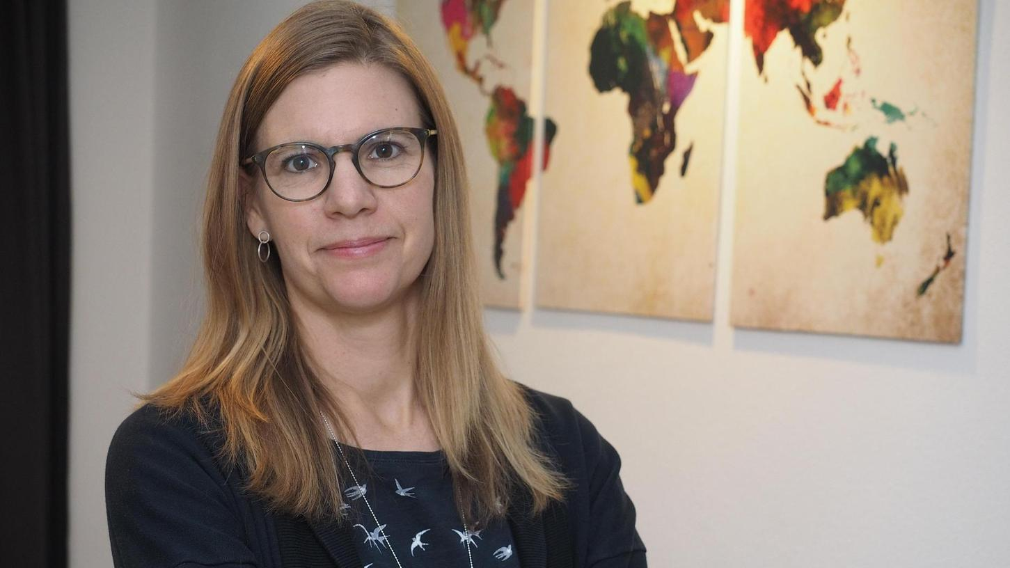 Für die Grünen ins Rathaus? Sandra Huber, die einzige grüne Stadträtin, will sich als Bürgermeisterin besonders um die Gleichstellungs- und Verkehrspolitik kümmern.