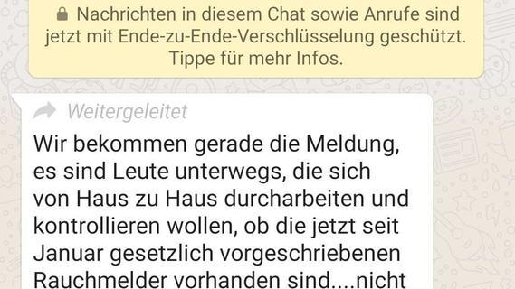 WhatsApp-Kettenbrief geht in Franken um: Das sagt die Polizei - Nordbayern.de