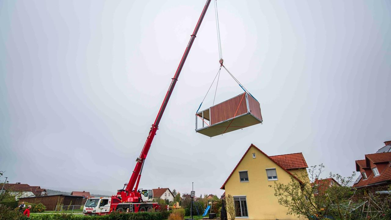 Das erste Tiny-House der Firma momo mobil erhielt ein Kunde aus Pettstadt.