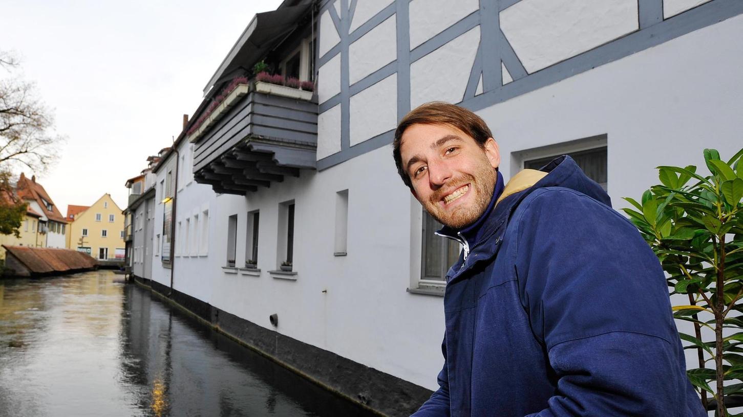 Andreas Liebert zu Gast in seiner alten Heimat Forchheim. Der Musiker war vor kurzem auf Tournee auf den Färöer Inseln.