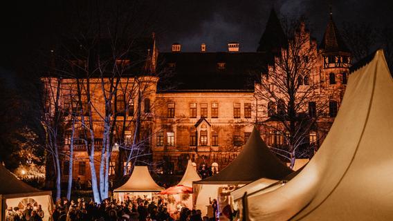 Weihnachtlicher Bummel vor Steiner Schloss-Kulisse - Nordbayern.de