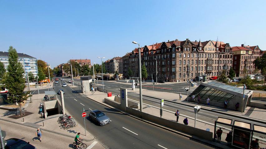 Gleich nach dem Umbau 2011 gab es Katerstimmung: Der vom Verkehr umtoste Platz sei