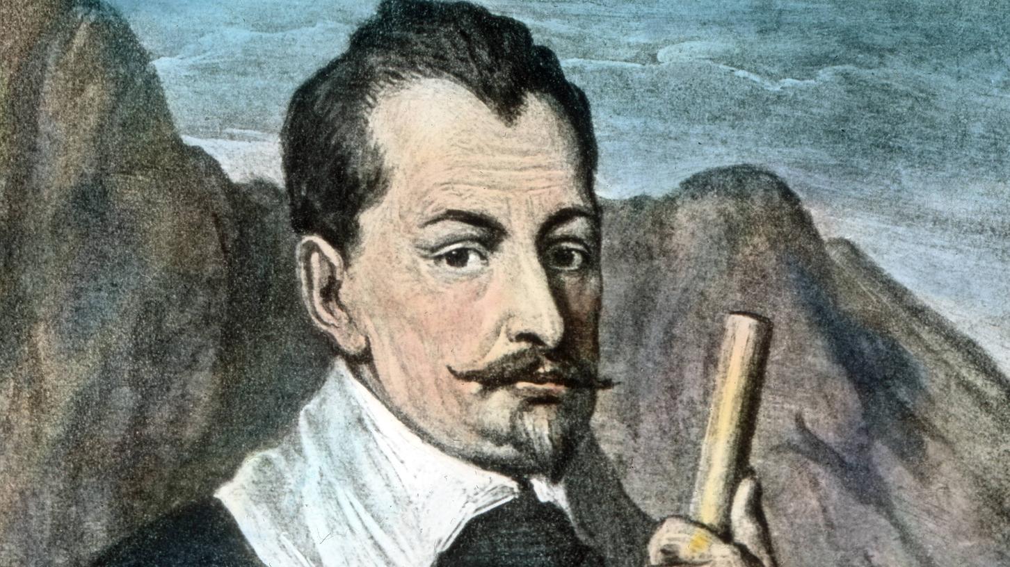 Der Feldherr Albrecht von Wallenstein.